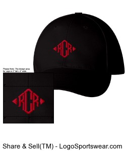 Adult size baseball cap Design Zoom
